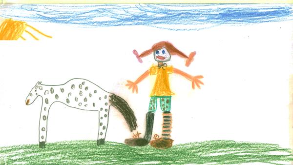 Pipi_Pferd_Kinderzeichnung